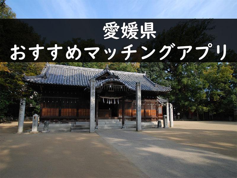 愛媛で使うべき出会い系、マッチングアプリのベスト3を大公開!